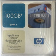 HP C7970A LTO1 Ultrium Data Cartridge 100Gb