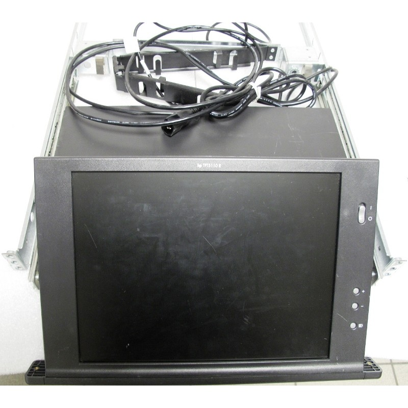 HP TFT5110R 281683-B21 Rackmount Flat Panel Monitor