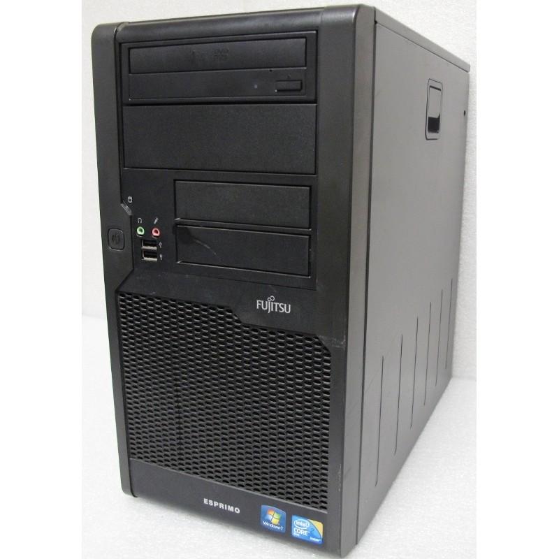 """PC FUJITSU ESPRIMO P5731E-STAR5 Windows 7 Pro + 17"""""""