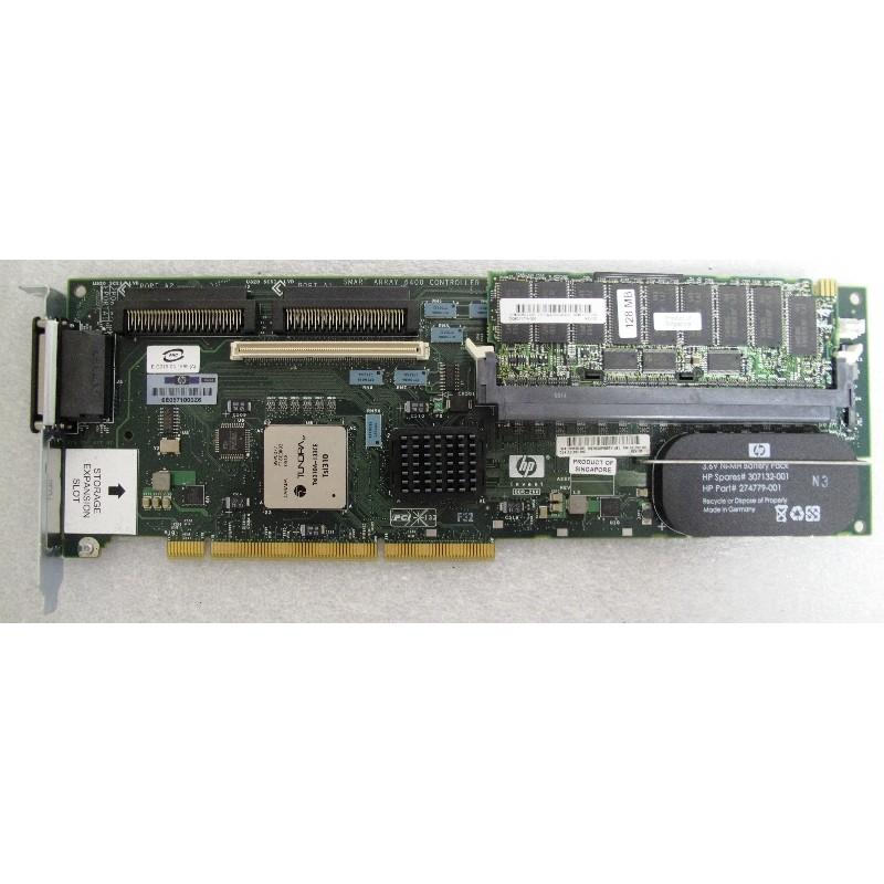 HP SMART ARRAY 6402 Dual SCSI Raid - Ordi Spare