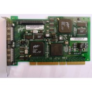 Sun 375-3057 PCI Dual Channel Ultra 3 VHDCI SCSI Card Sun QLA10162