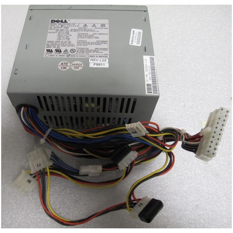 Dell PS-5201-7D Power Supply 200W ATX - Ordi Spare