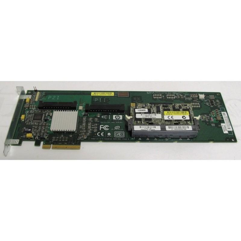 HP 412799-001 Smart Array E200 PCIe x4 SAS RAID Controller - Ordi Spare