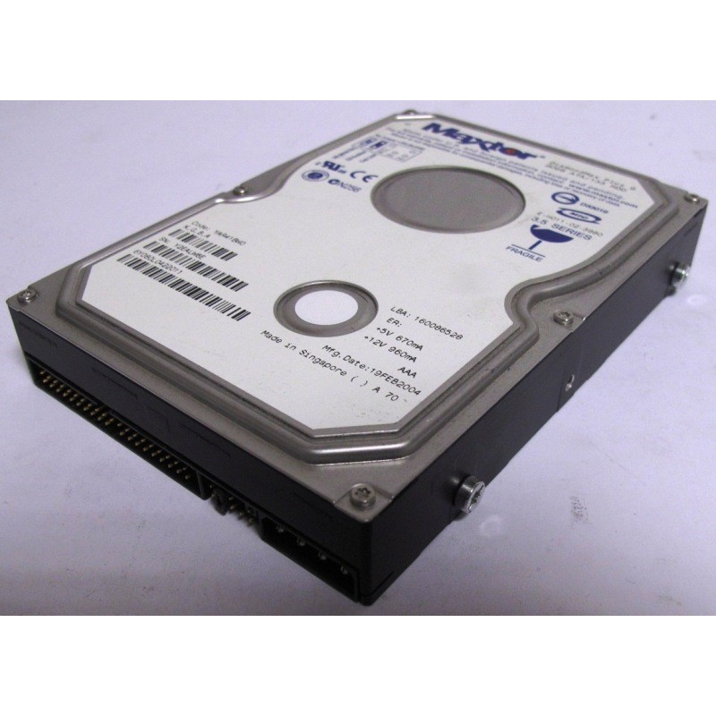 Disque Maxtor 6Y080L0 80Gb IDE 7200t 35