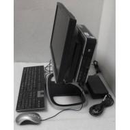 "HP DC7800P Ultra-slim + Ecran 19"" + Support + Haut parleur"