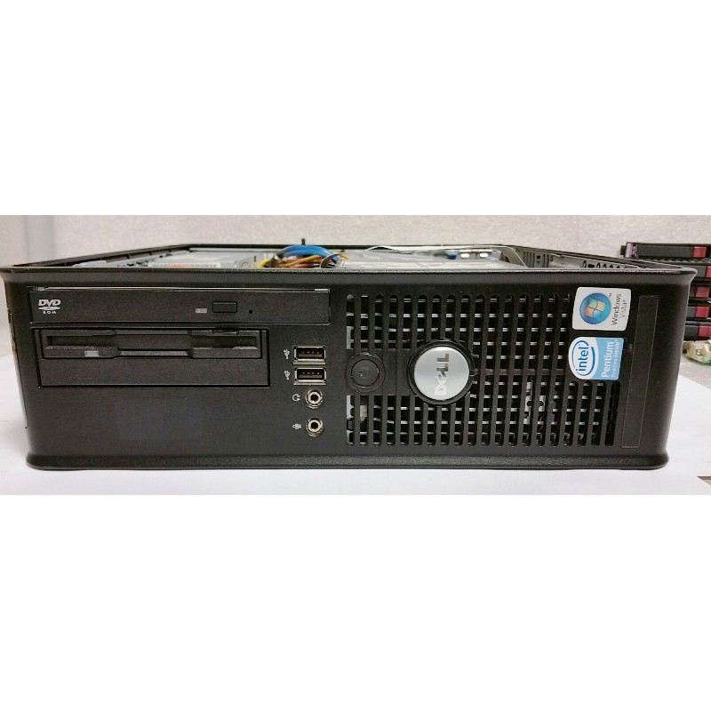 PC DELL OptiPlex 755 Dual Core 2Ghz Mem 1Go Disk 80Gb Vista Business