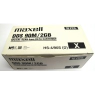 Maxell HS-4/90s DAT DDS-1 Lot de 10 Data Cartridge 2Gb/4Gb