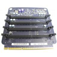 Apple Mac Pro A1186 Memory Riser Board 4 slots 630-7667 PBA D37706-501 + 4Gb RAM