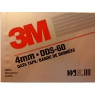 3M DDS-60 Data Tape 4mm 1.3Gb 60m
