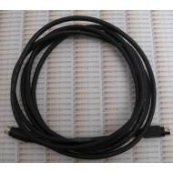 Câble 2M 3pins Mâle-Mâle