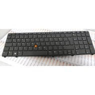 HP Keyboard QWERTY for Notebook 8770w pn 6037B0081304