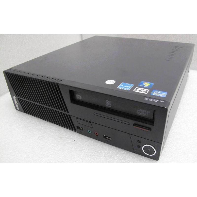 PC Lenovo ThinkCentre M72e 3664 SFF Intel Core I3 2120 3.3GHz 4Go 250Go SATA W10