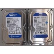 Lot HDD WD2500AAKX SATA 3.5 250GB 16MB Cache