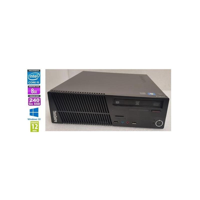 Lenovo PC ThinkCentre M73 SFF Core I5-4460 3,20GHz 8Gb RAM SSD240 DVD W10 DP