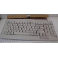 Clavier AZERTY USB  N860-8811-T401 - Coloris beige