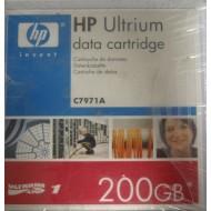 HP C7971A Ultrium LTO1 Data Cartridge 100/200GB