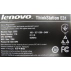 Lenovo ThinkStation E31 8Gb 1To